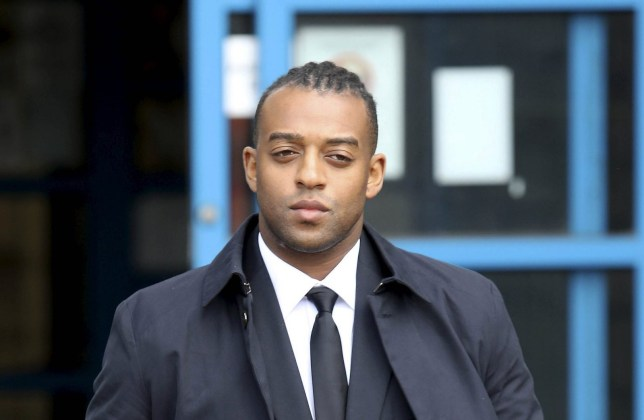 """JLS star Oritse Williams leaving Wolverhampton Crown Court, Monday 20 May, 2019. JLS star Oritse Williams has told how a waitress accusing him of rape took advantage of HIM after inviting herself back to his hotel and was annoyed when he """"didn't last long."""" See SWNS story SWMDjls. The 32-year-old singer denies attacking the 20-year-old woman after plying her with booze in a nightclub's VIP area on December 2, 2016. The woman claimed Williams picked her up and raped her on the double bed of the his room at the Ramada Hotel, in Wolverhampton. The pair had earlier met following one of William's solo concerts at the city's Gorgeous nightclub and the pop star said he thought the alleged victim was a """"beautiful girl"""". He told police the alleged victim and her two female friends were """"all over me"""" as they """"grinded"""" against him and kissed each other in the VIP area. At the end of the evening, Williams said the woman told him she wanted to spend the night with him and the pair travelled back to the hotel in a taxi."""