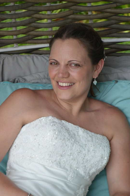 "Helen, who married Paul two months after the crash TERRIFYING footage shows a car being pushed sideways along a motorway for a mile after it collided with a supermarket lorry. The driver claims he was rammed at 50mph on the M6 by an Aldi lorry. Dashcam footage shows the car facing the central crash barrier as it is propelled along the motorway before being flung into the hard shoulder crash barrier. The driver, who wants to be known only as Paul, was lucky to escape with whiplash and a knee injury in the accident on February 19 near Sandbach, Cheshire. Paul's wife, Helen Whittington, recently shared the footage on social media to complain that Aldi's insurers were ""dragging their heels"" over paying the ?6,364 bill. Helen, who lives near Bristol, posted: ?A driver for multi-million pound company, Aldi UK , crashed in to an unexpected driver then forced him sideways along the M6 for almost a mile as the driver ?didn't see him!? ""Have Aldi paid the insurance claim? NO!"""