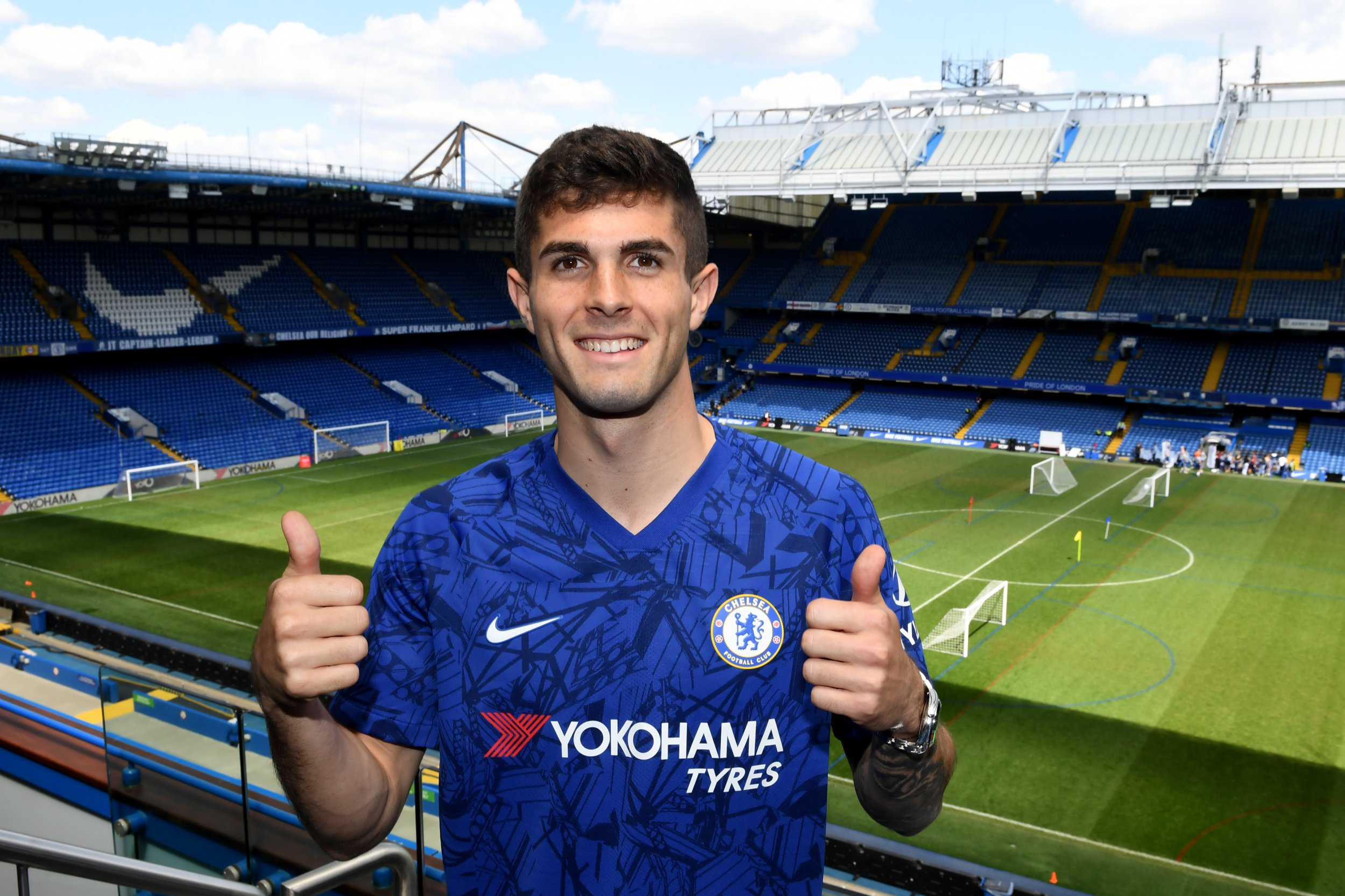 New Chelsea signing Christian Pulisic spoke to Arsenal star Pierre-Emerick Aubameyang before Stamford Bridge move