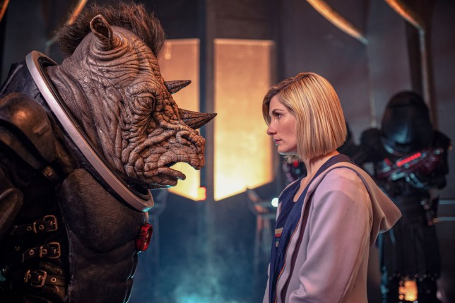 Jodie Whittaker and The Judoon face off in preview clip of Doctor Who