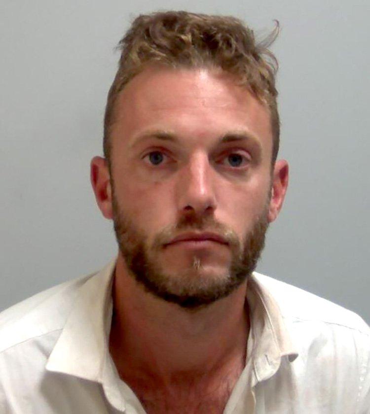 Man masturbated at stranger hours after 'strangling' girlfriend