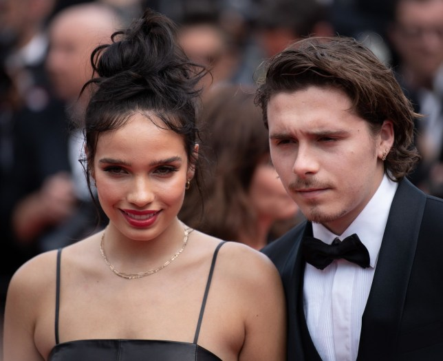 Brooklyn Beckham's ex-girlfriend Hana Cross 'left in tears after tense clash' at London Fashion Week party