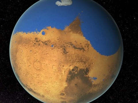 Scientists may have just figured out where all the water on Mars went