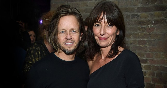 LONDON, ENGLAND - OCTOBER 25: Michael Douglas and Davina McCall attend the Models 1 50th anniversary party at Spring Studios on October 25, 2018 in London, England. (Photo by David M. Benett/Dave Benett/Getty Images)