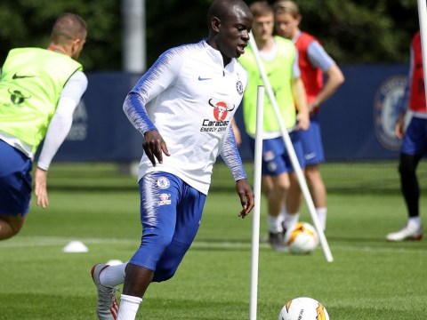 Chelsea retain hope N'Golo Kante will feature against Arsenal despite knee injury