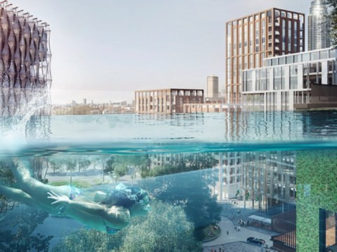 The first ever sky pool is coming to London