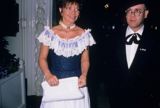 Who is Elton John's wife Renate Blauel and how long were