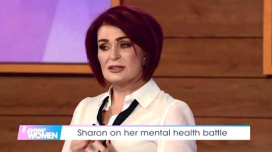 Sharon Osborne on Loose Women