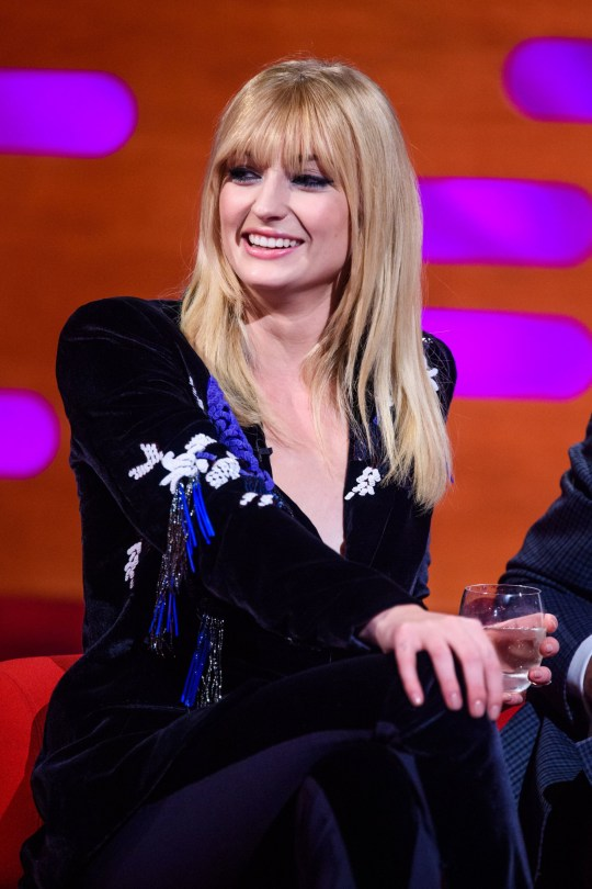 Image result for sophie turner on graham norton