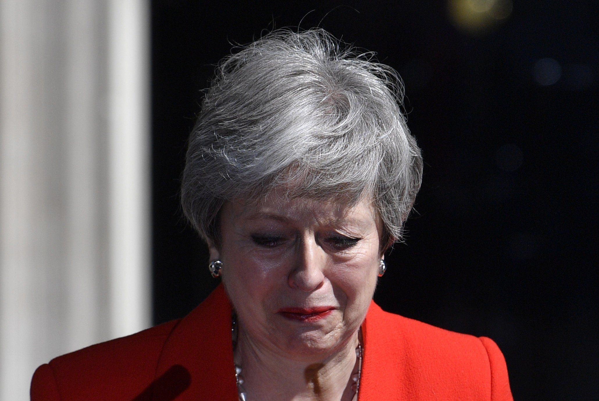 Theresa May's resignation tears were 'ones of anger not self-pity'