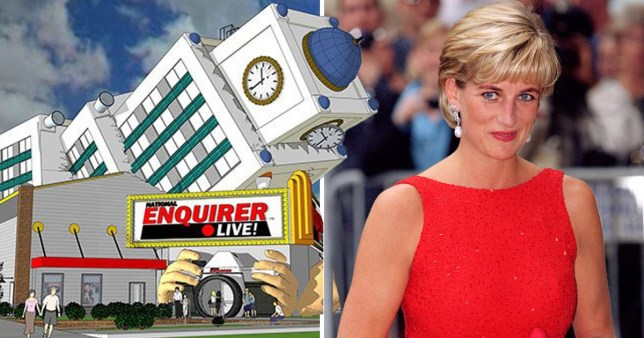 Theme park ride based on Princess Diana's fatal crash opens tomorrow