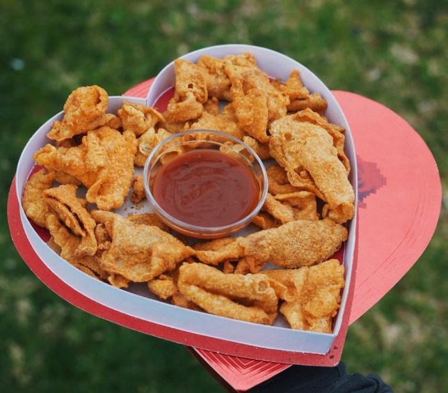 Chick N Skin sells crispy fried chicken skins as a keto-friendly snack
