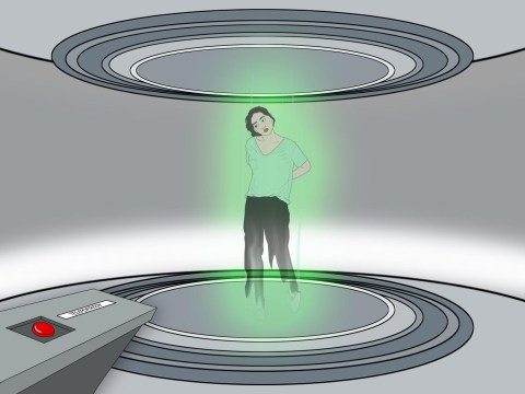 Would you use teleportation if it meant your body had to be destroyed?