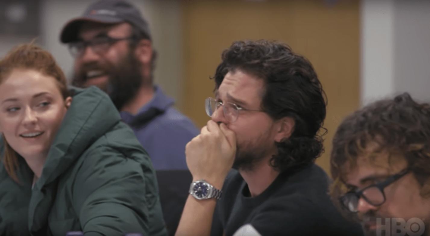 Game of Thrones documentary trailer for The Last Watch shows Kit Harrington's tears for Season 8 script