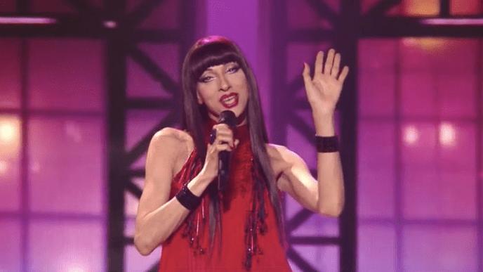 Eurovision celebrates same-sex love with Dana International