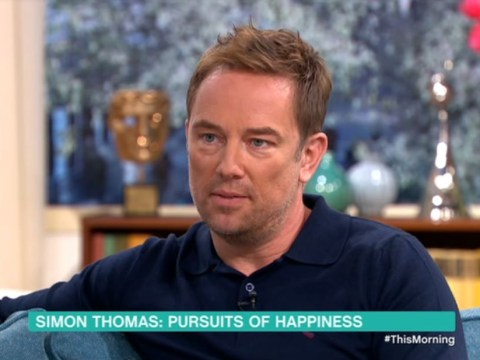 Simon Thomas shares his tools for dealing with depression as he returns to television after the death of his wife