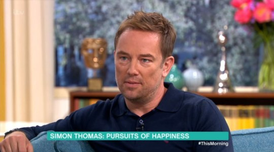 Simon Thomas on This Morning