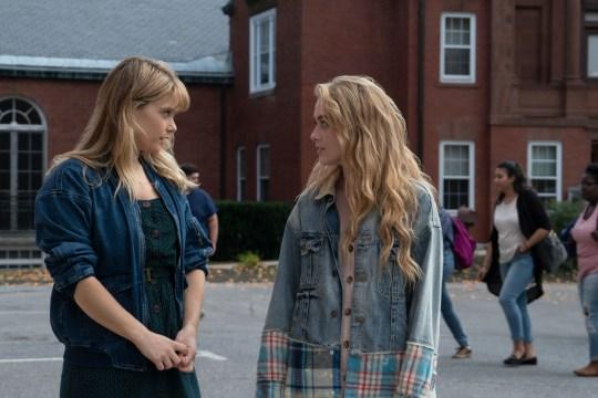 Netflix's The Society, Allie and Casandra