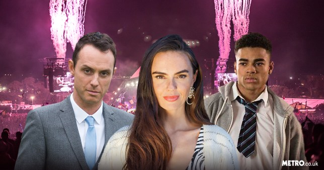 Mercedes, James and Prince in Hollyoaks