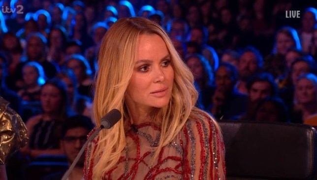 Amanda Holden on Britain's Got More Talent