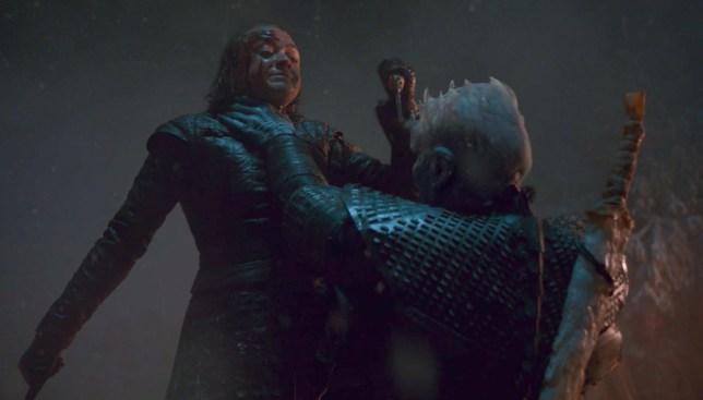 Arya kills The Night King in Game Of Thrones