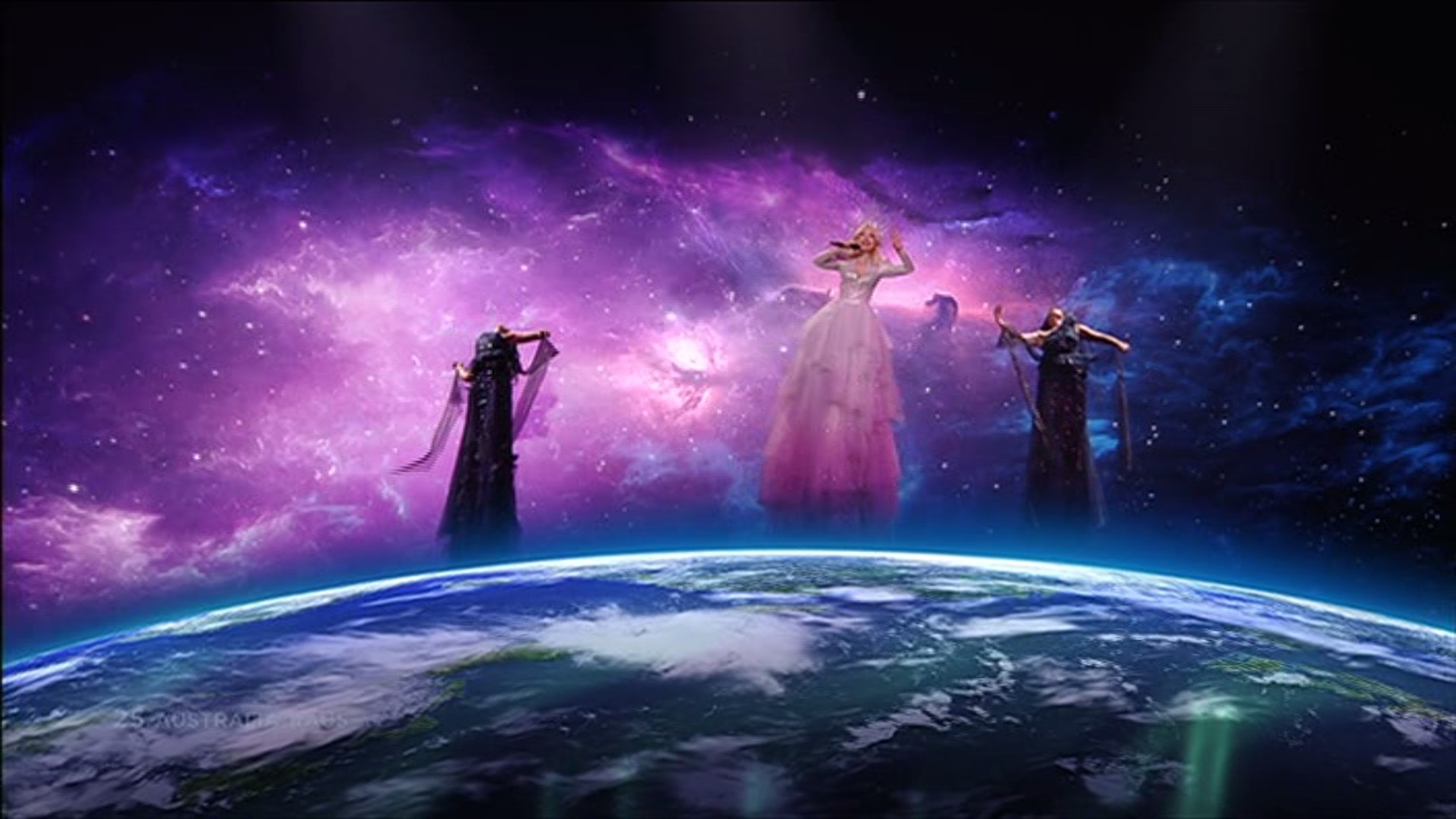 Australia come for flat earthers with one of the best Eurovision Song Contest performances ever