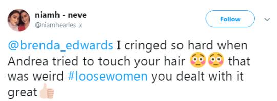 Loose Women reaction