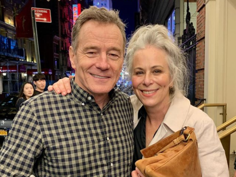 Malcolm In The Middle stars Bryan Cranston and Jane Kaczmarek come together for Hal and Lois reunion