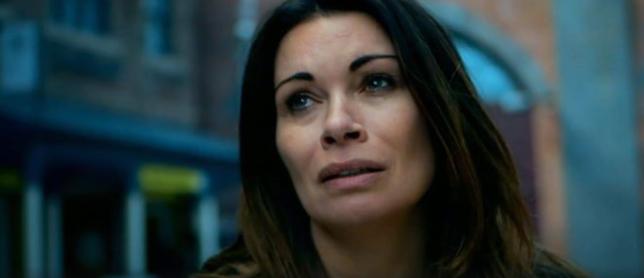 Carla suffers in Coronation Street