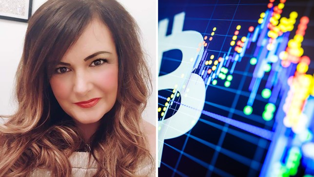 Jen McAdam, 48, spent £8,600 on the cryptocurrency scam