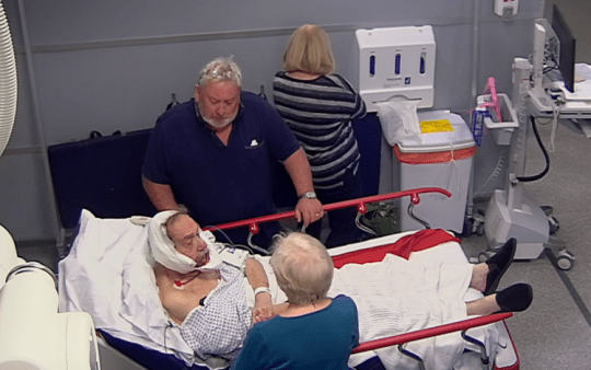 24 Hours in A&E patient dies shortly after appearing on the show