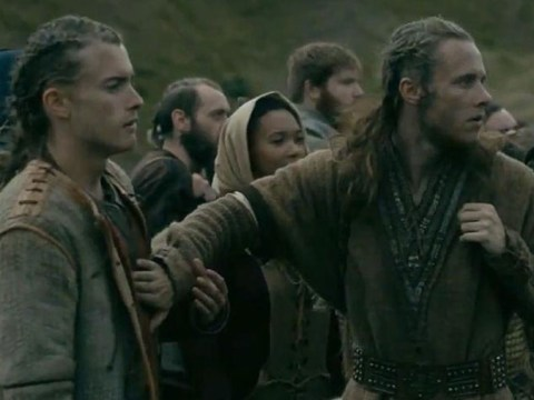 Vikings stars Elijah Rowen and Jack McEvoy reveal on-set love letter prank