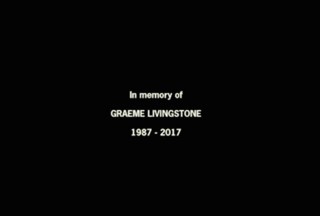 Line Of Duty paid tribute to Graeme Livingstone