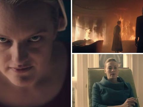 The Handmaid's Tale season 3 trailer: Offred and Serena Joy unite in fight against the system