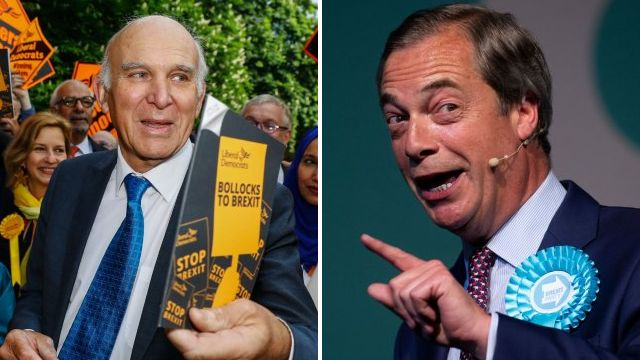 Vince Cable says Nigel Farage has 'whipped up hatred of foreigners'