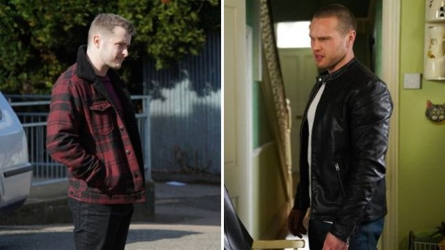 Keanu Taylor (Danny Walters) discovers the truth about Ben Mitchell (Max Bowden)