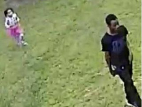 Haunting last photo of missing girl, 4, running behind stepdad suspected of killing her