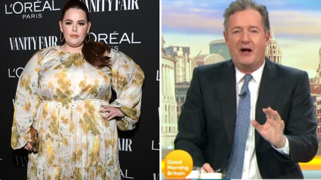 Tess Holliday accepts Piers Morgan invite to Good Morning Britain after being branded 'morbidly obese'
