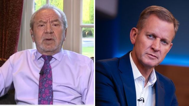 Lord Alan Sugar defends The Apprentice aftercare as he insists The Jeremy Kyle Show is a 'different kettle of fish, unfortunately'