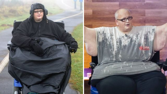 World's former fattest man to return to UK from US so he can start claiming benefits again