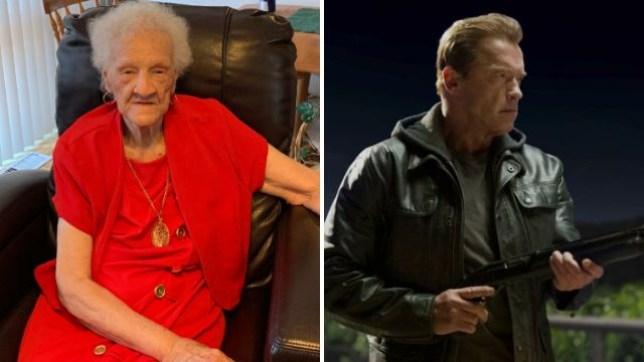 Arnold Schwarzenegger, Thelma Smith, 102-years-old, California, eviction