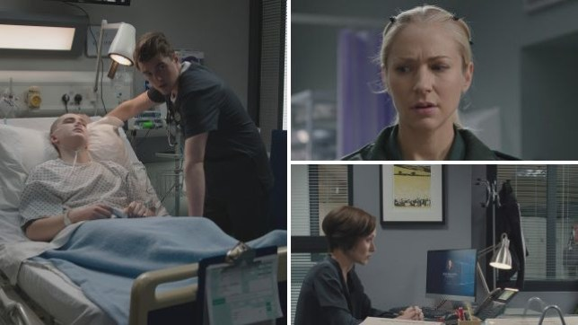 Will helped a patient die in Casualty