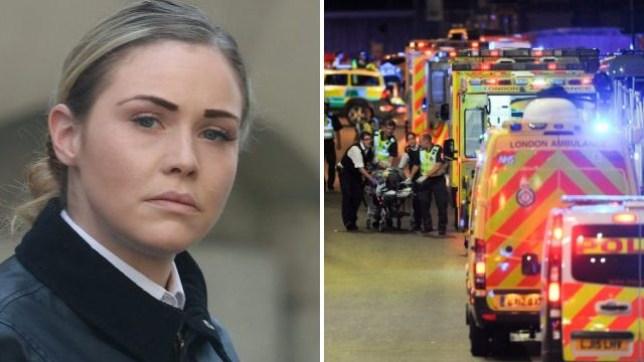 Pc Mia Kerr guarded London Bridge terror victim armed with just a baton