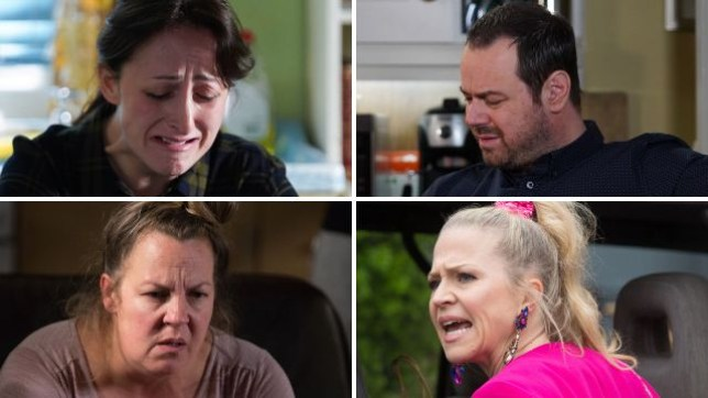 EastEnders spioilers for Sonia, Mick, Karen and Linda