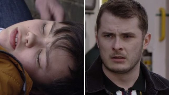 Ben watches as Will is hospitalised in EastEnders