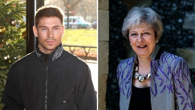 Joey Essex believes Theresa May should 'dress smarter' as he gets her name wrong