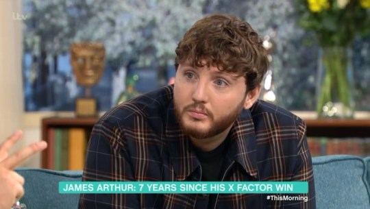 James Arthur on This Morning