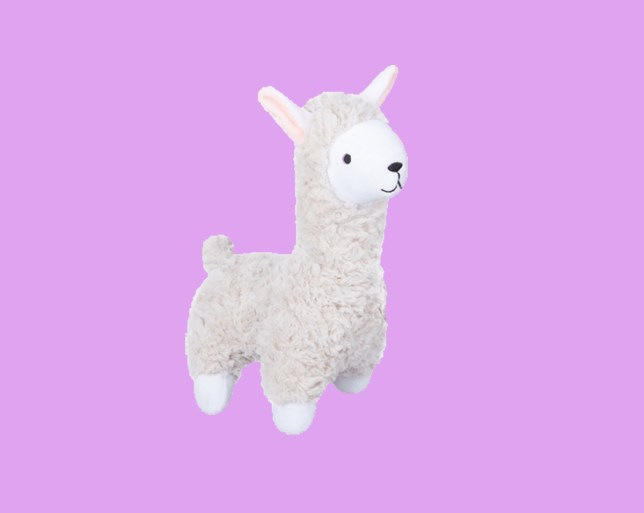 Kmart is selling a stuffed llama dog toy that looks a little rude