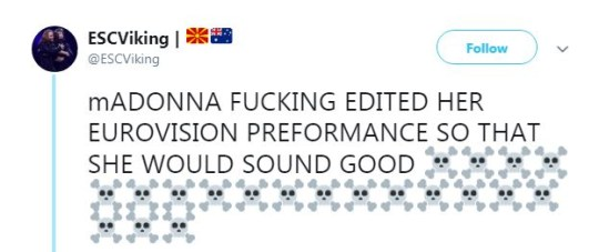 Reaction to Madonna editing vocals
