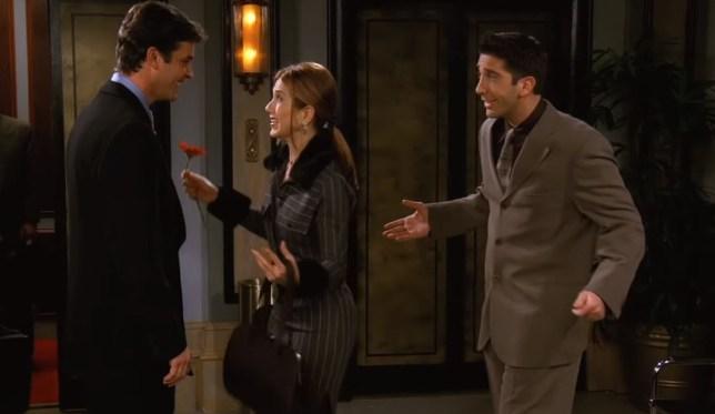Mark Rachel and Ross Friends